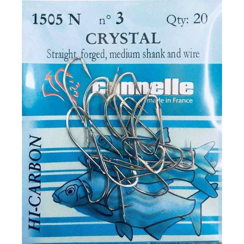 Hameçons Crystal N