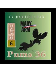CARTOUCHES MARY-ARM PUMA 36...