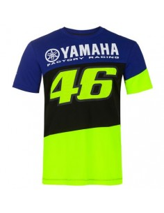 Racing t-shirt bleu Yamaha