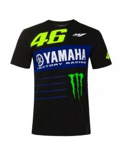 Dual t-shirt sponsors noir