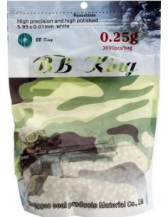 BILLE AIRSOFT BB KING 0.25G