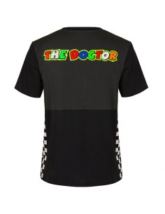 Race t-shirt noir