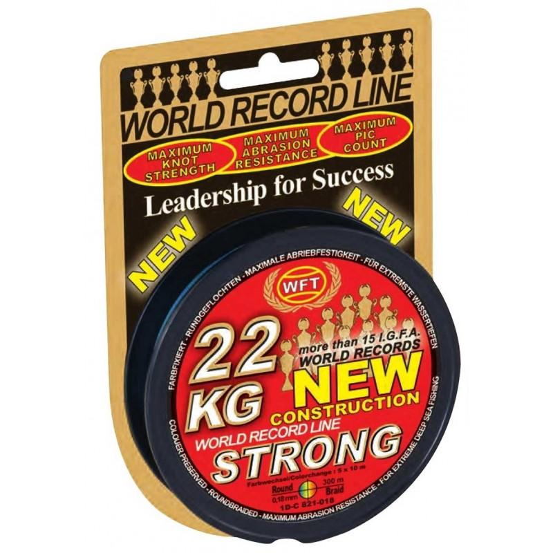 Tresse WFT KG Strong Multicouleur 300m
