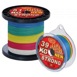 Tresse WFT KG Strong Multicouleur 600m